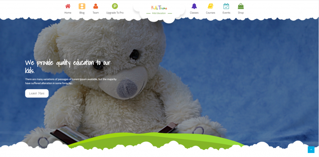 Kid's Website example - Puppetbrush.com - Kid's web design Canada