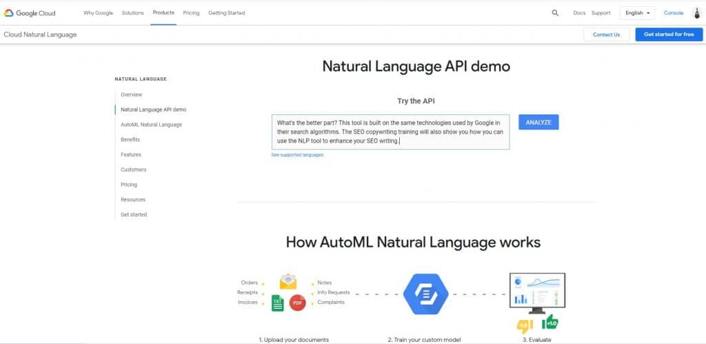 nlp-tool-google-example-puppetbrush