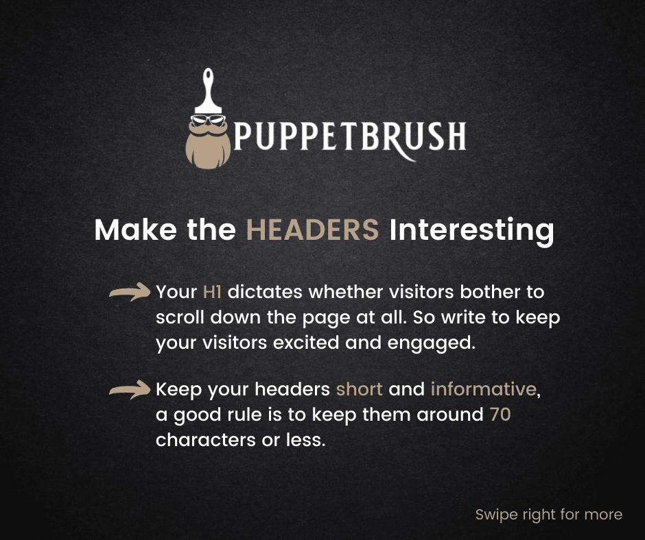 Headers in SEO and the DOs and Don'ts | Puppetbrush