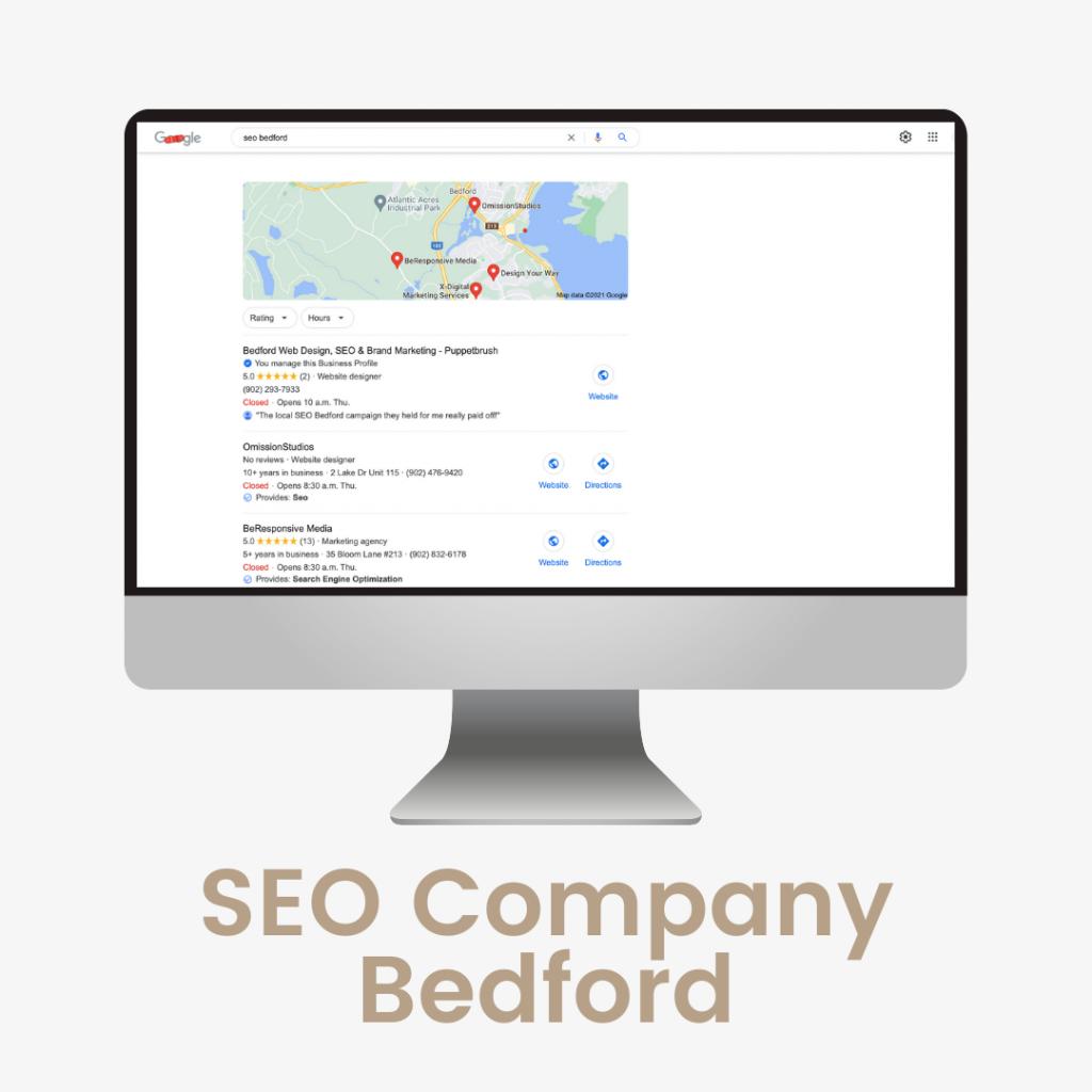 SEO Company Bedford   Puppetbrush