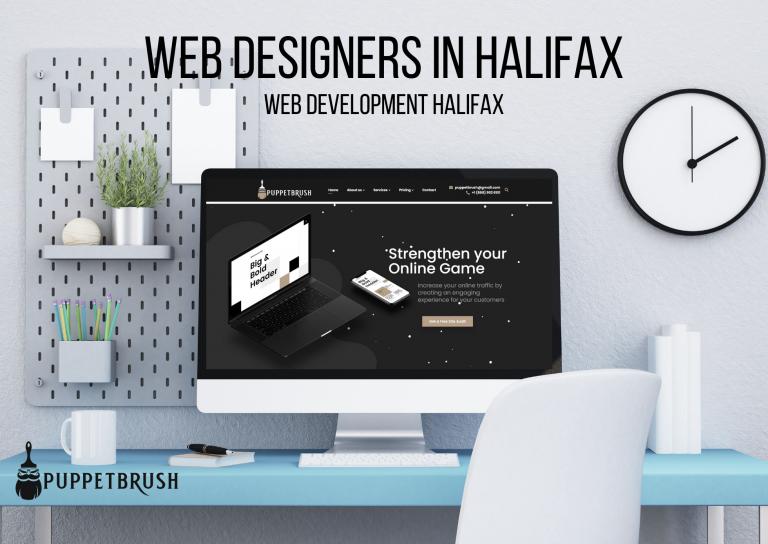 Web Designers in Halifax | Puppetbrush